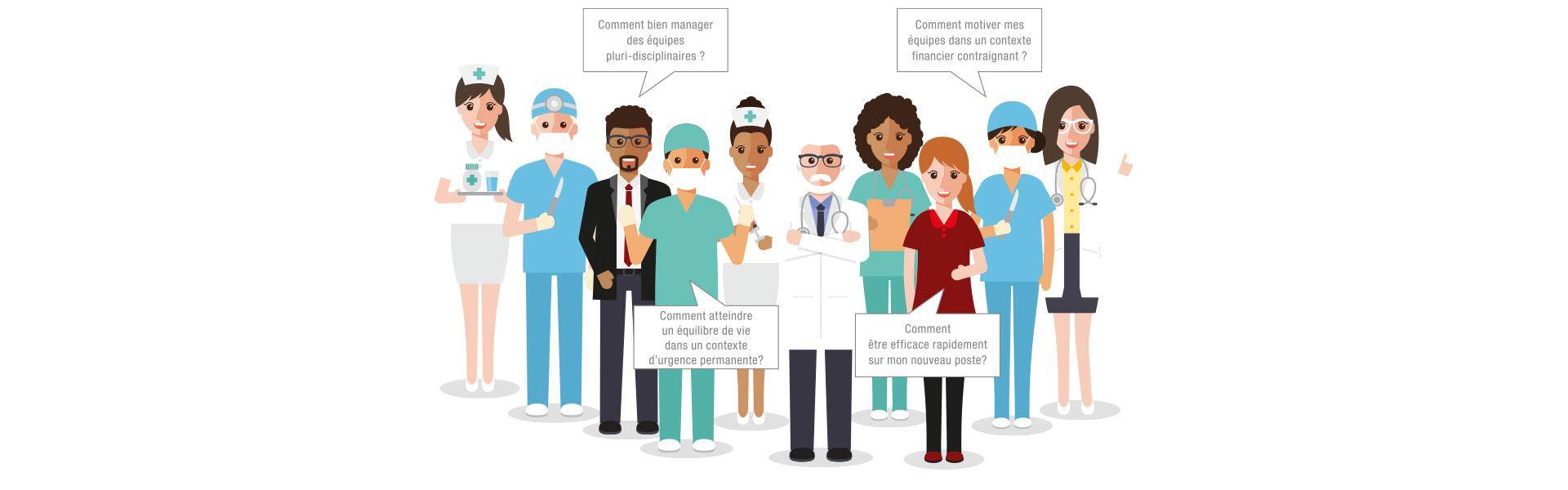 Les sujets des acteurs de la santé